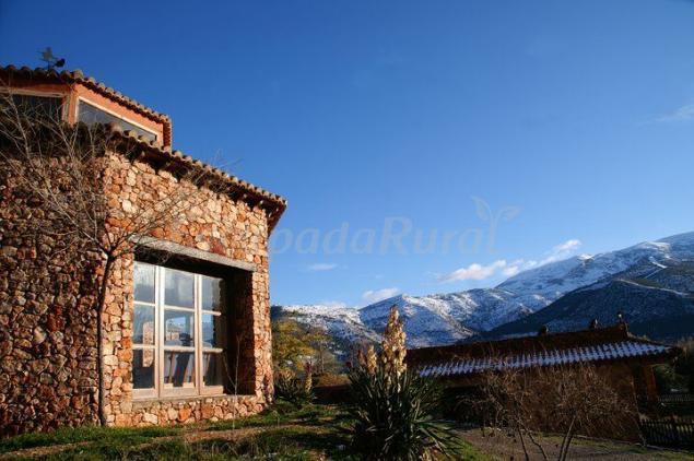 La posada de ahlam casa rural en benecid almer a for Casa ciudad jardin almeria