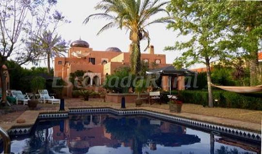 Casa palacete rabe albanta casa rural en vera almer a - Patios rurales ...