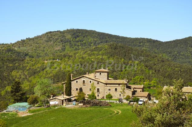 Mas postius casa rural en muntanyola barcelona - Casa rural en rupit i pruit ...
