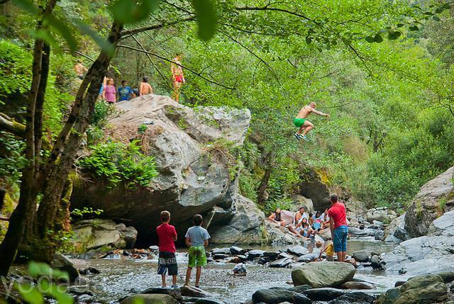 Fotos de can vila de montseny casa rural en montseny for Escapada rural piscinas naturales