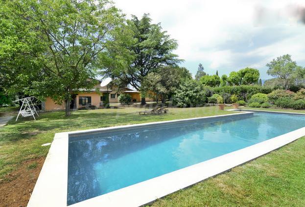Villa santiago casa rural en cardedeu barcelona - Piscinas la garriga ...