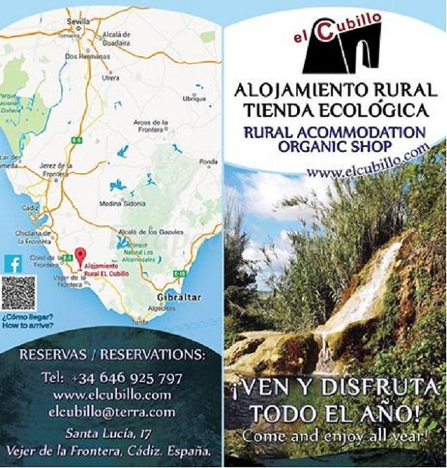 Alojamiento rural el cubillo casa rural en vejer de la frontera c diz - Casa rural vejer de la frontera ...