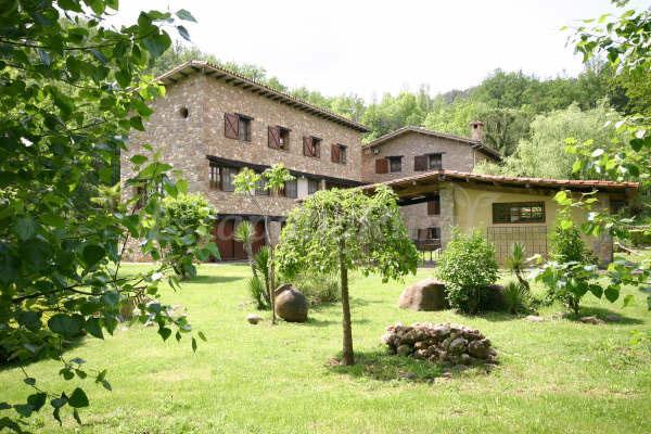 Can torrotes casa rural en la vall de bianya girona - Casa rural la vall de gavarresa ...