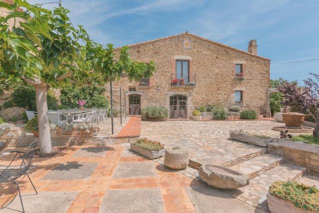 Can Bech Rural Casa Rural En Fontanilles Girona