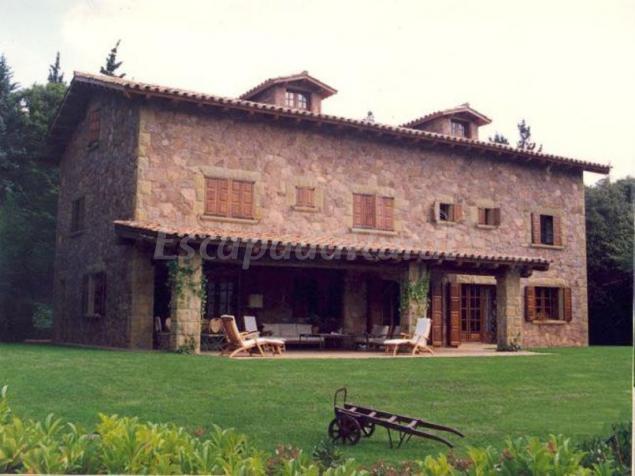 Gran castanyer casa rural en viladrau girona for Casa rural montseny