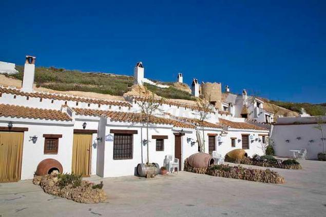 Cuevas atalaya casa rural en hu scar granada - Casas rurales diferentes ...