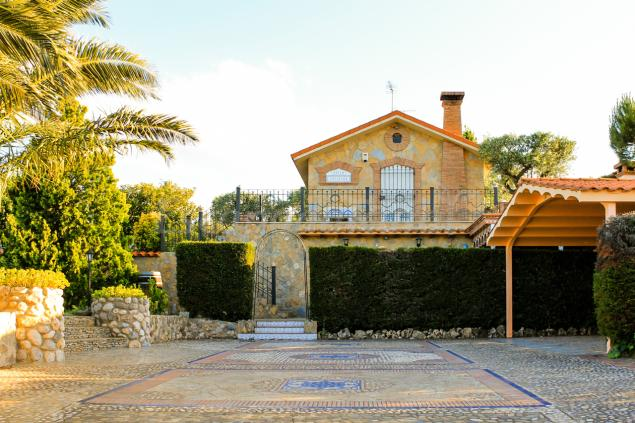 Villa cristina casa rural en calahorra la rioja - Jardines de azahar rioja ...