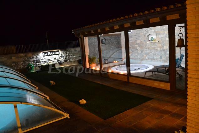 Fotos de ca l 39 anxica casa rural en guimer lleida for Casa rural con chimenea asturias