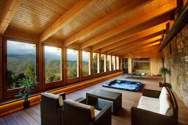 Heretat de gu rdia casa rural en la baronia de rialb lleida - Casas rurales lleida piscina ...
