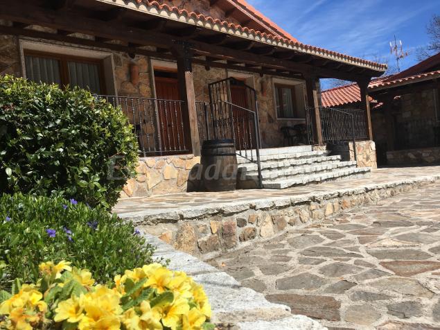 El encanto del valle del lozoya casa rural en gargantilla de lozoya madrid - Casas rurales con encanto madrid ...