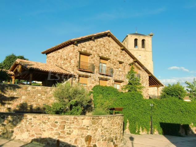 Casa rural rosa de los vientos casa rural en braojos - Hoteles cerca casa campo madrid ...