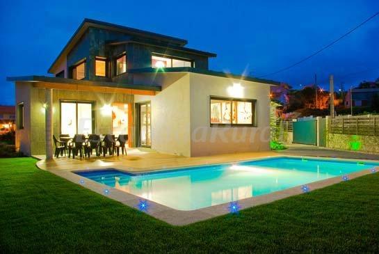 Areal de nerga casa rural en cangas do morrazo pontevedra for Casas de alquiler de verano con piscina