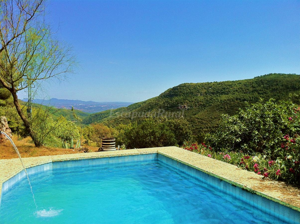 Fotos de mas de vilella casa rural en alcover tarragona for Piscina alcover