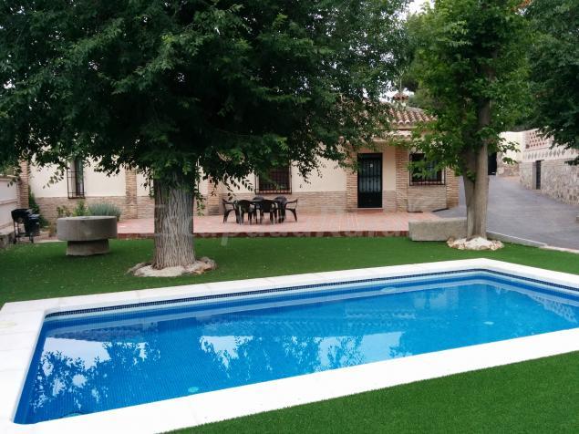 Casa el pinar de la bastida casa rural en toledo toledo - Casa rural toledo piscina ...