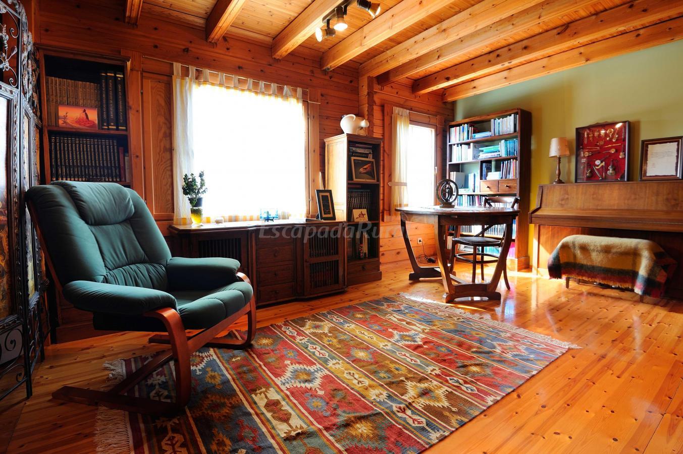 Fotos de la casa de madera casa rural en arrieta vizcaya - La casa de la madera valencia ...