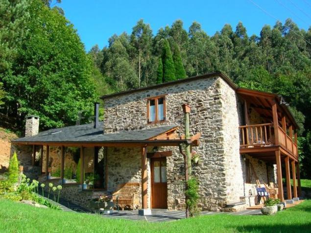 Fotos de o vilar casa rural en ortigueira a coru a - Casas de piedra gallegas ...