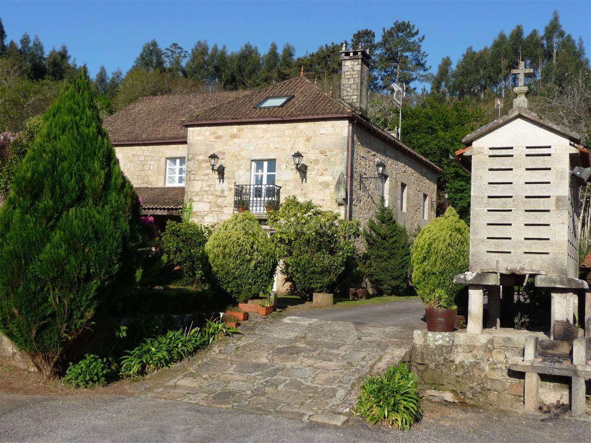 Fotos de casa da posta do valmaior casa rural en boiro - Casa a coruna ...