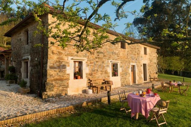 A casa da torre branca casa rural en santiago de - Casas rurales con encanto en galicia ...