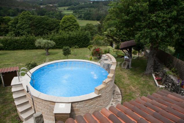 Casa do vinculeiro casa rural en a ba a a coru a - Apartamentos con piscina en galicia ...