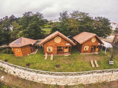 Jacuzzi Exterior Cubierto.24 Casas Rurales En A Coruna Con Jacuzzi