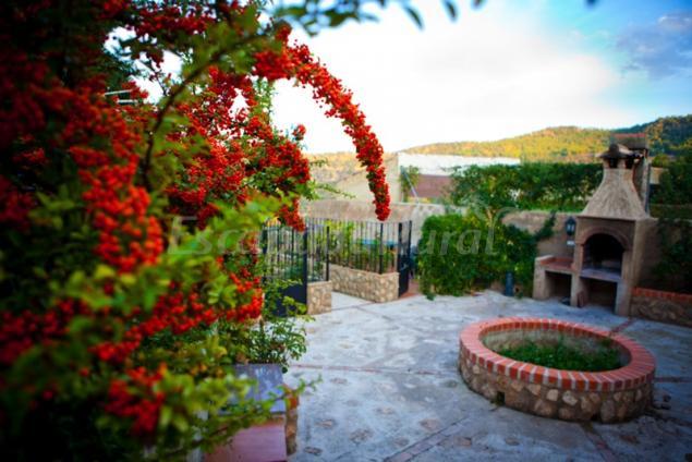 Casa jard n casa rural en letur albacete for Casa rural jardin del desierto