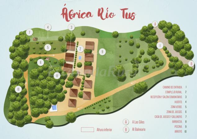 áfrica Río Tus Casa Rural En Yeste Albacete