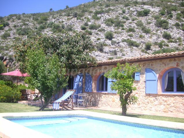 Casa rural el sequer mediterraneo rural casa rural en benimeli alicante - Alquiler casa rural alicante ...