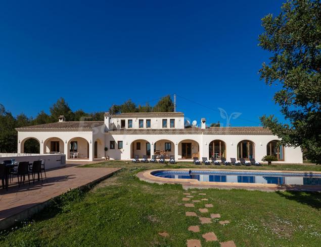 Villa granja casa rural en benissa alicante - Alquiler casa rural alicante ...