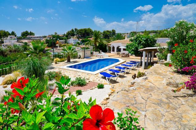 Flores Casa Rural En Benissa Alicante
