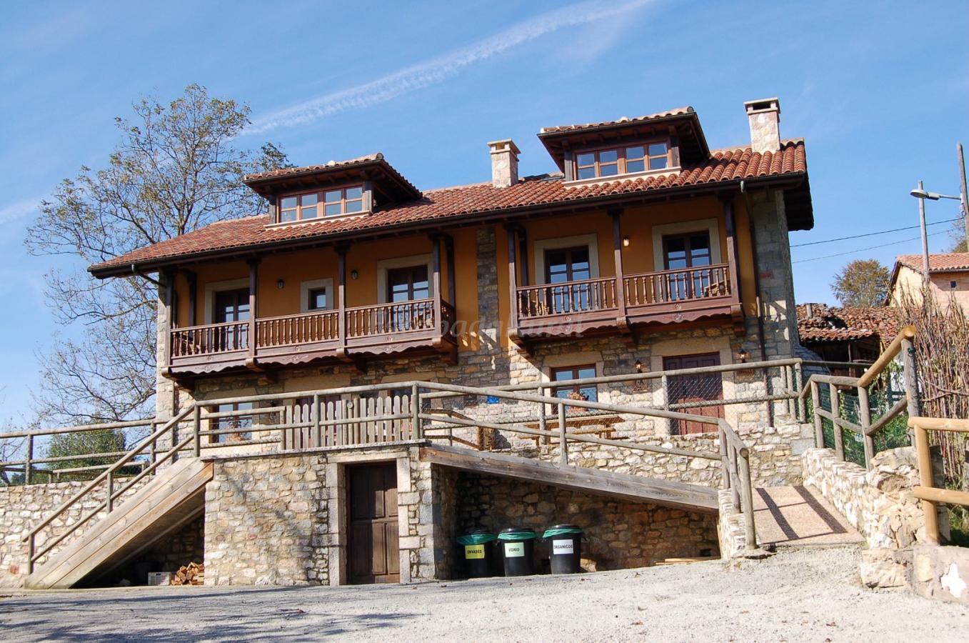 Fotos de casas de aldea pe anes casa de campo morc n asturias - Casa de campo asturias ...