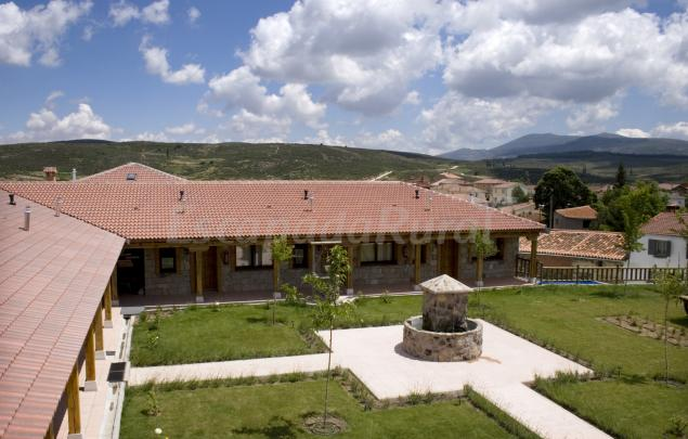Albergue tur stico san ant n casa rural en villanueva del campillo vila - Villanueva de avila casa rural ...