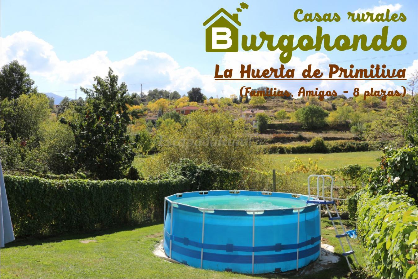 Fotos de la huerta de primitiva casa rural en burgohondo vila - Casas rurales la huerta ...