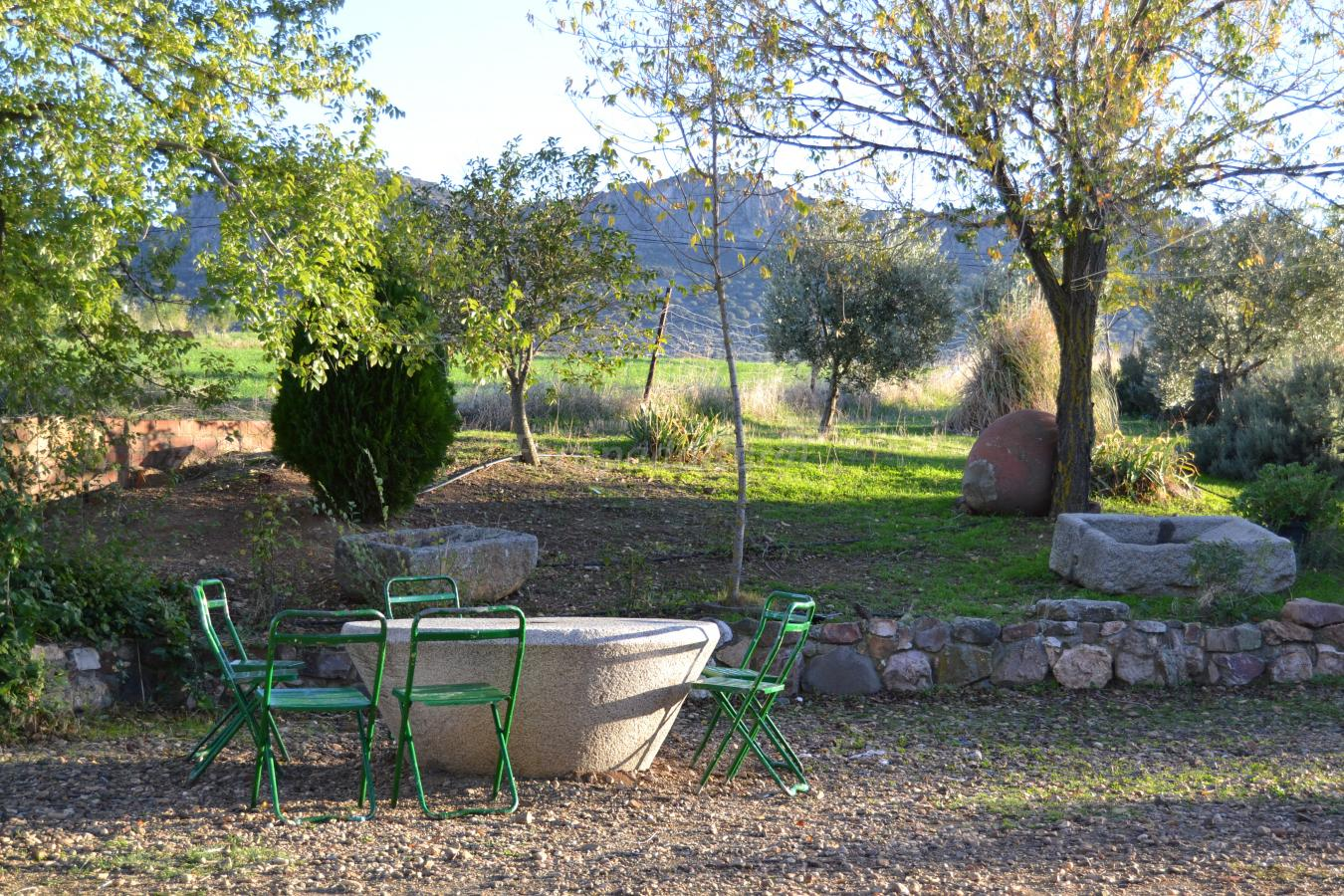 Fotos de turismo la loma casa rural en cabeza del buey for Casa rural jardin del desierto tabernas