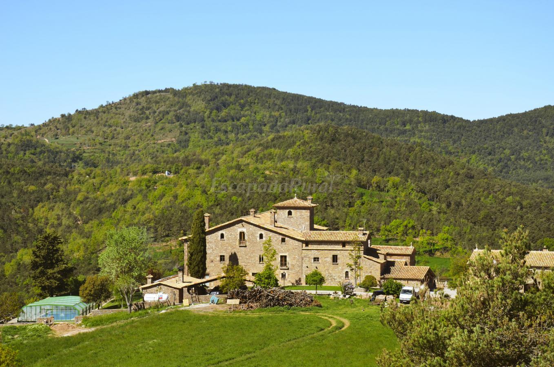Fotos de mas postius casa rural en muntanyola barcelona for Casas rurales castellon con piscina