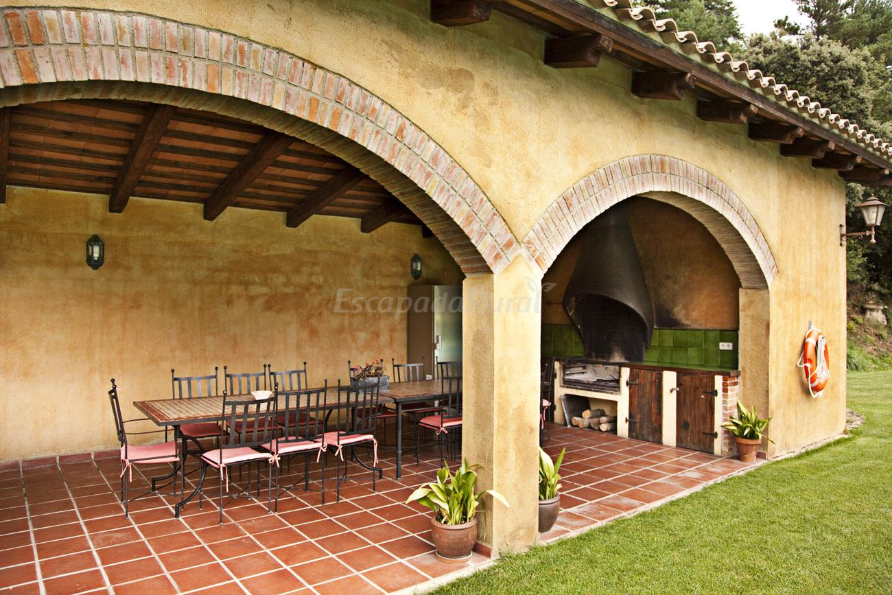 Fotos de el munt casa rural en castellter ol barcelona - Hacer un porche ...