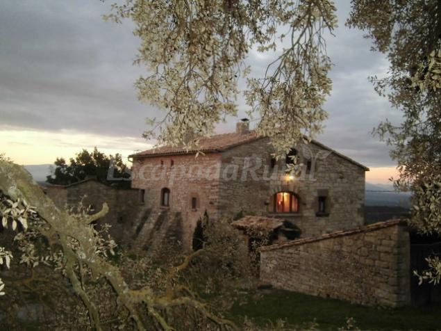 El mas casa rural en sant mateu de bages barcelona - Casa rural bages ...