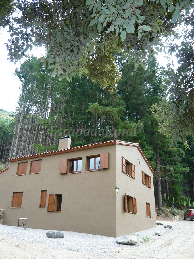 Fotos de els vimets casa rural en montseny barcelona for Casa rural montseny