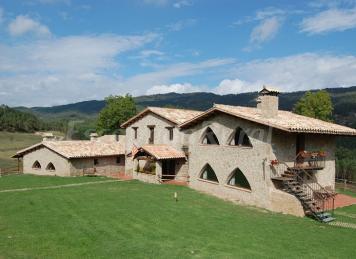 Masies el prat casa rural en sant jaume de frontany barcelona - Casa rural sant jaume de frontanya ...