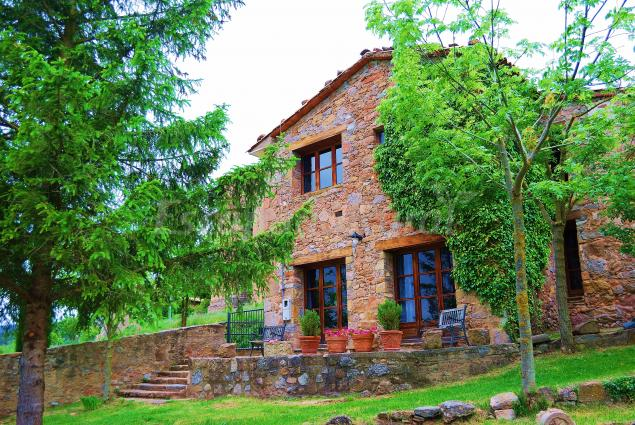 Cal mestre casa rural en sant jaume de frontany barcelona - Casa rural sant jaume de frontanya ...
