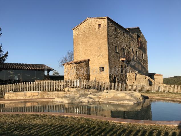 Casa albareda casa rural en viver i serrateix barcelona - Casa rural economica barcelona ...