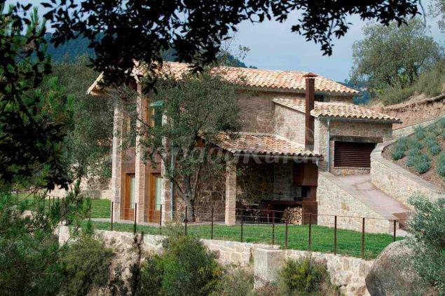 Cal mateu de castelladral casa rural en castelladral barcelona - Casa rural economica barcelona ...