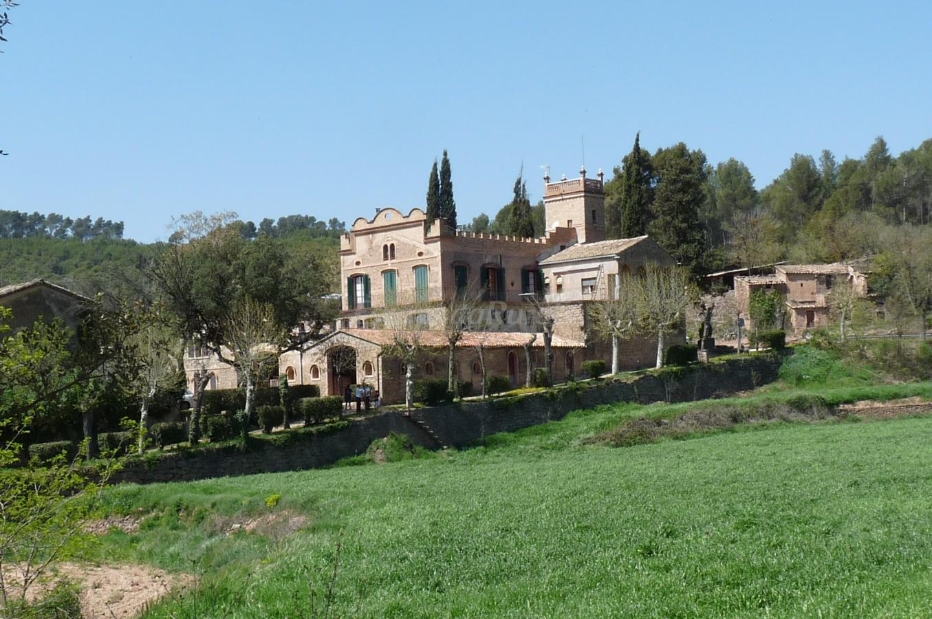 Fotos de la vila d 39 argen ola casa rural en castellnou de bages barcelona - Casa rural bages ...