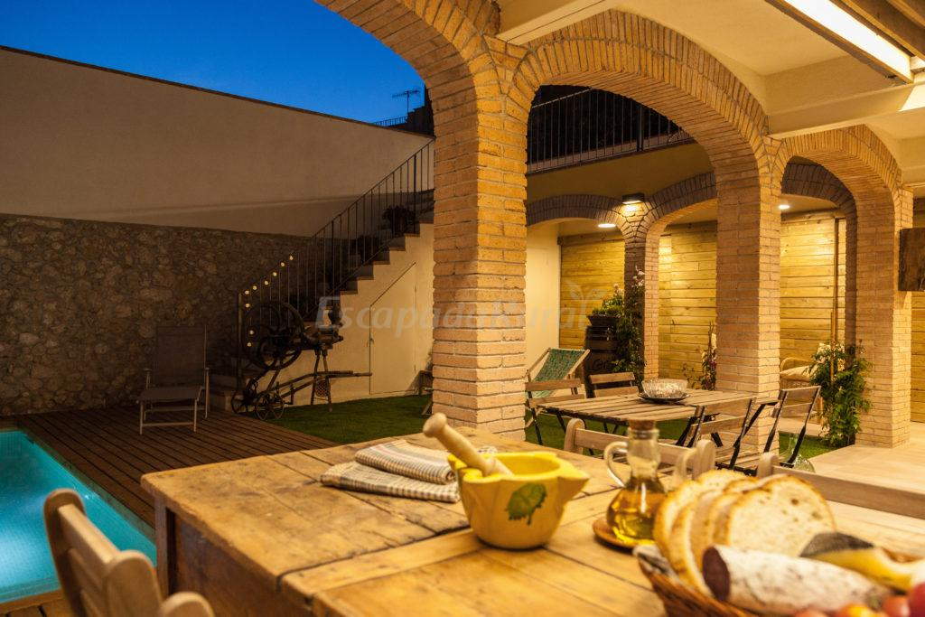 Fotos de cal cols casa rural en sant pau d 39 ordal barcelona - Casa rural economica barcelona ...