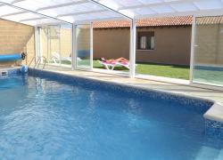 El crisal casa rural en padilla de abajo burgos - Casa rural con piscina cubierta ...