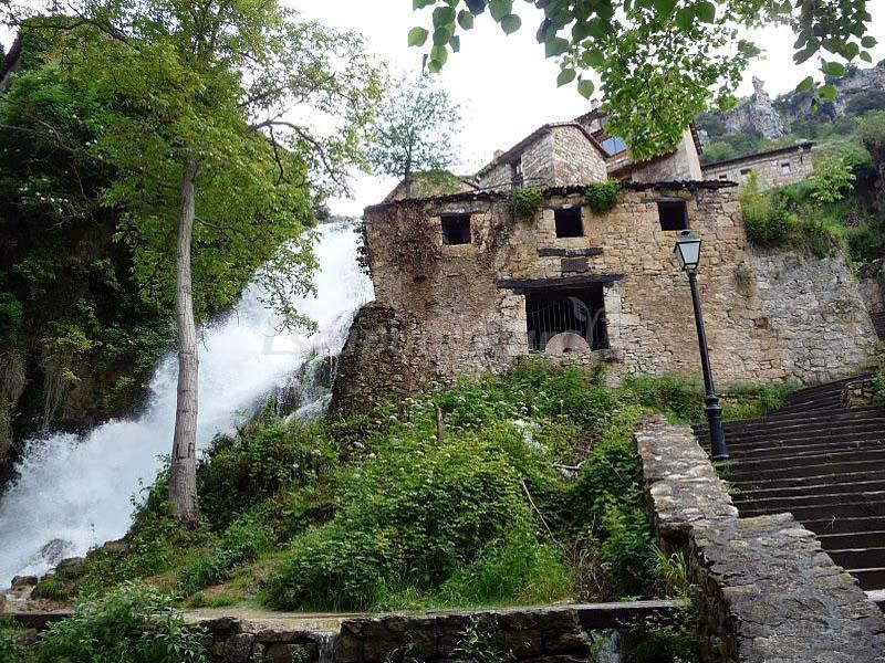 Fotos de el molino de la cascada el molino de orbaneja casa rural en orbaneja del castillo - Casa rural el castillo ...