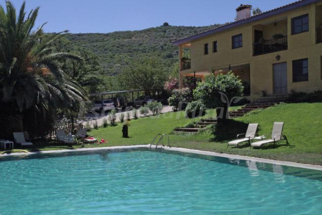 Hotel rural xerete casa rural en navaconcejo c ceres - Casas rurales en el jerte con piscina ...