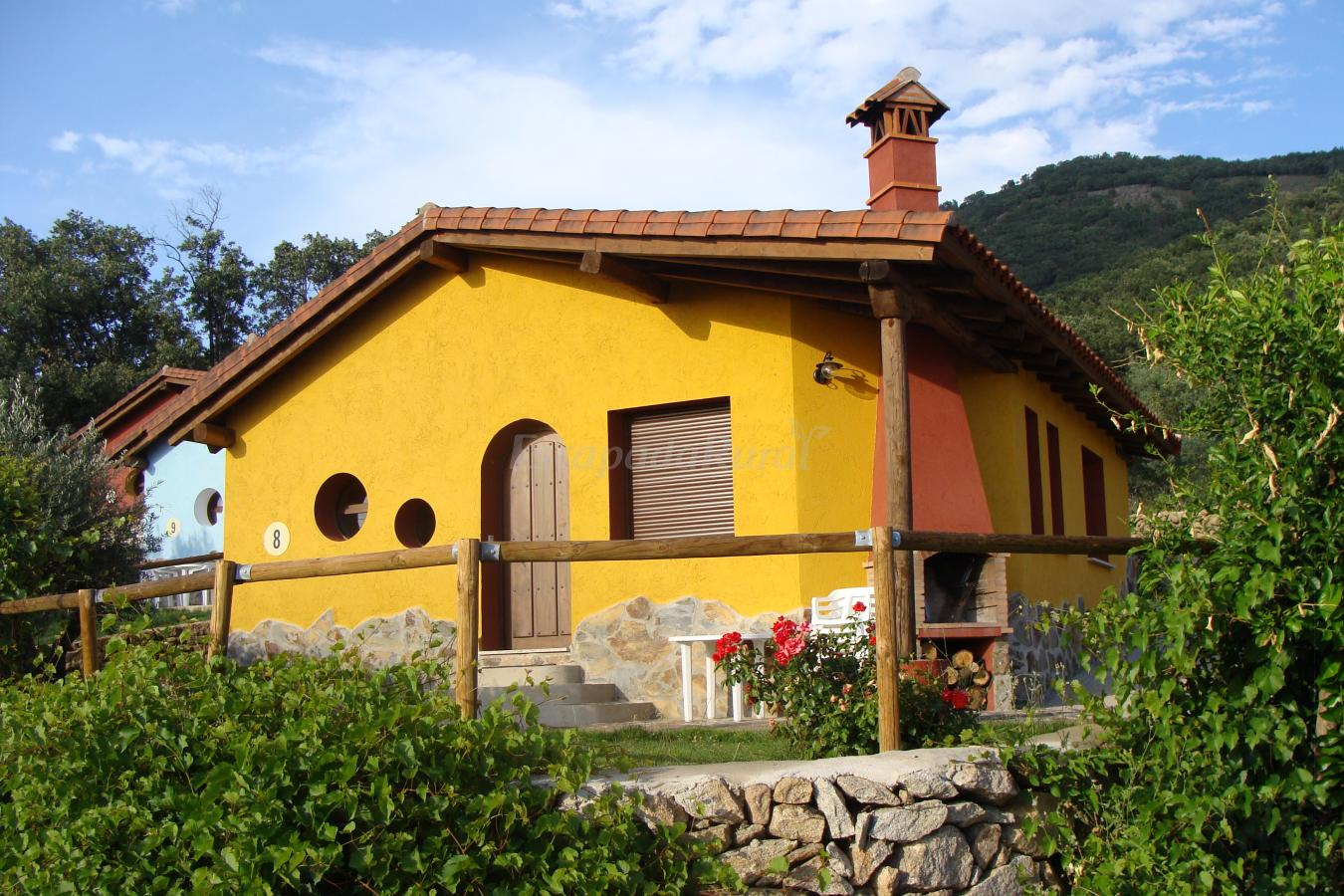 Fotos de casas rurales manolo casa rural en casas del - Rehabilitacion de casas rurales ...