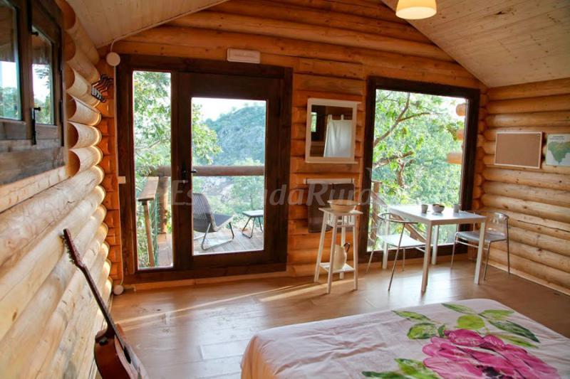 Fotos de caba as en los rboles de extremadura casa for Alojamientos cabanas en los arboles