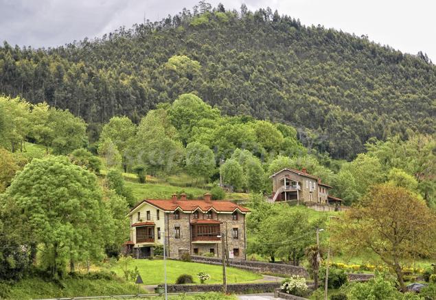 Vivienda rural finca artienza casa rural en riancho cantabria - Casas rurales cantabria alquiler integro ...