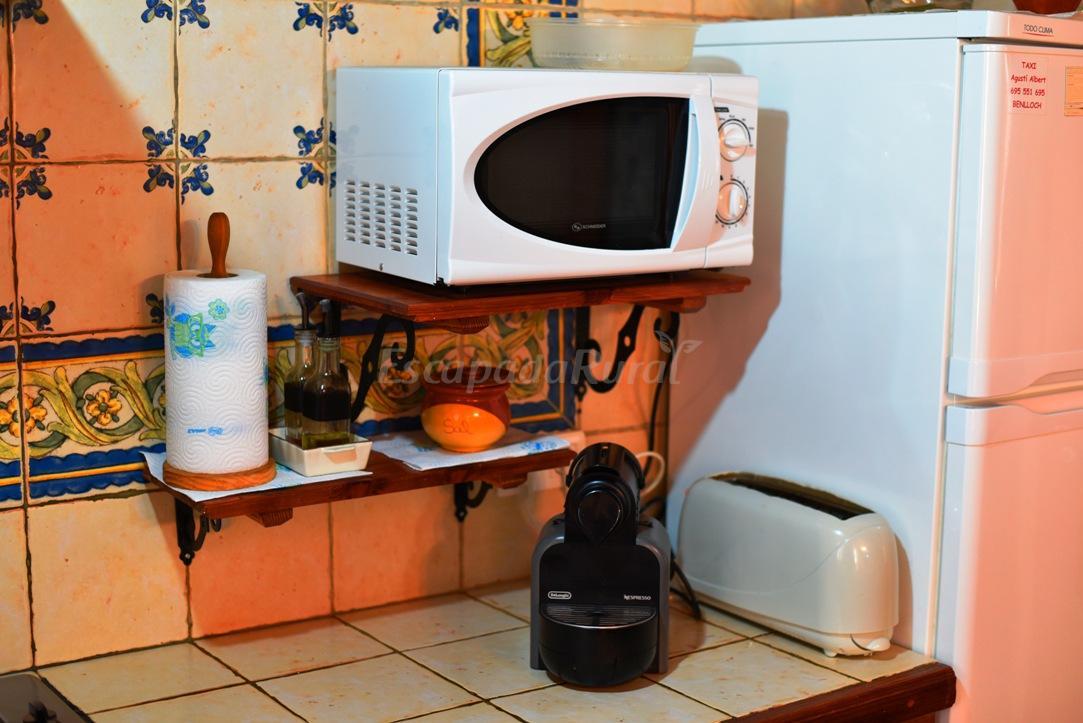 Fotos de mas els vilars casa rural en les useres useras for Cocinas castellon precios